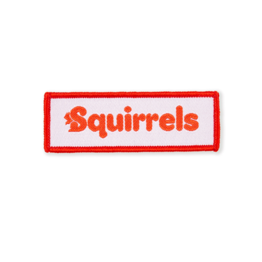 Squirrels Logo Fun Badge