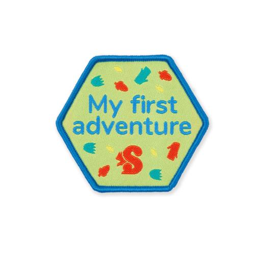 Squirrels My First Adventure Fun Badge