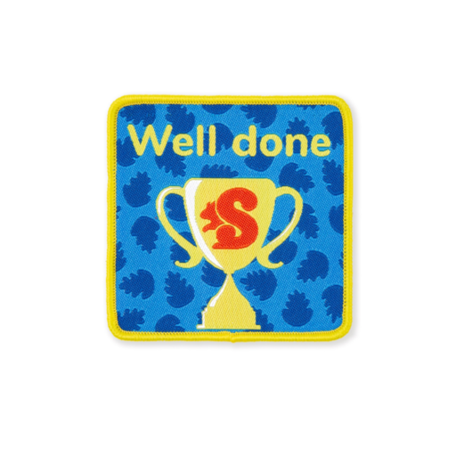 Squirrels Well Done Fun Badge